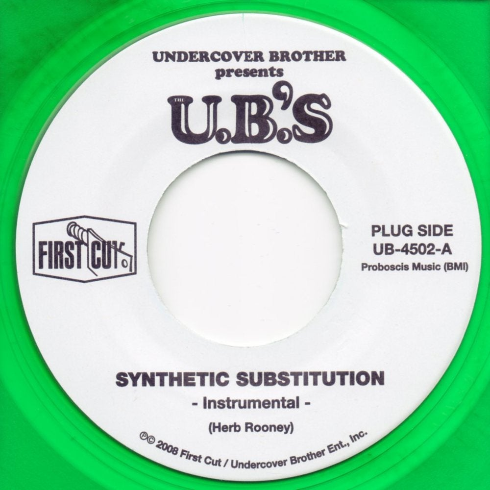 "Image of Synthetic Substitution - 7"" Limited Color Vinyl"