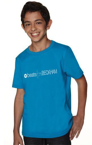 Image of YOUTH BECKHAM TURQUOISE tee - PRE ORDER