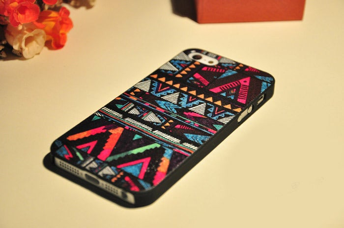 Image of [grlhx110047 zxy]Colourful Fashion Hard Iphone 4/4s/5 Cover Case