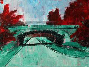 """Image of """"Overpass""""<br>Print"""