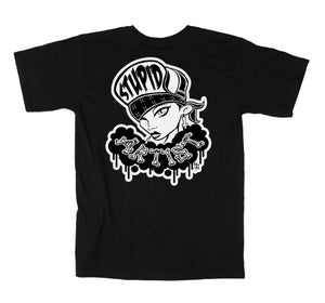 Image of Stupid Artist Mosh Chick Tee