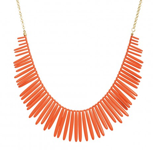 Image of Alex Necklace :: Coral