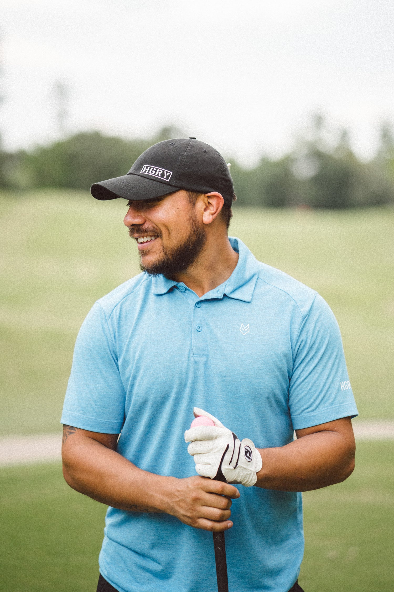 Image of Men's HGRY Golf Polo