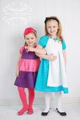 Image of Cheshire Cat Inspired Princess Dress