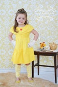 Image of Belle Inspired Princess Dress