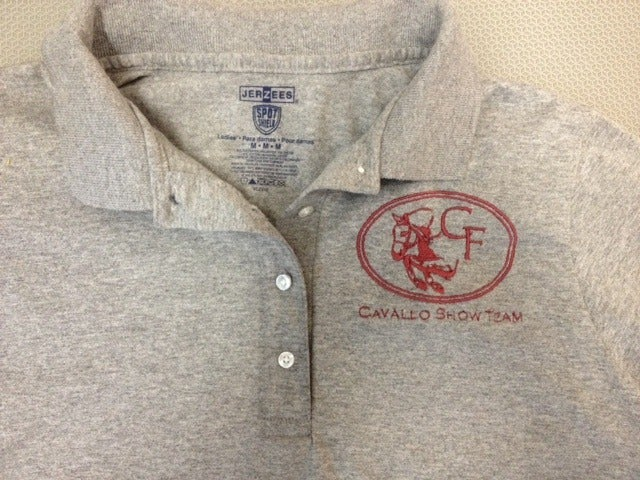 Image of Cavallo Show Team Embroidered Polo Shirt