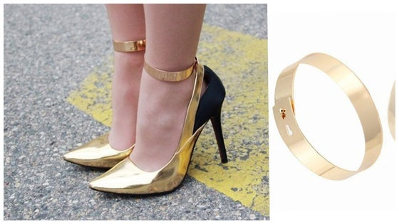 Image of Gold Anklet Cuff