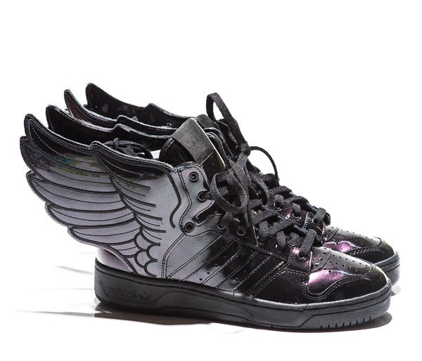 a19af6b58da8 Image of Adidas X Jeremy Scott Wings 2.0 - Black Patent Leather