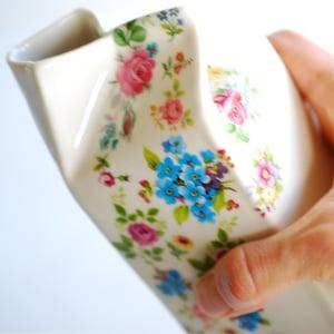 Image of Mixed Posy Porcelain Milk Jug