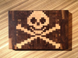 Image of Pirate End-Grain Cutting Board
