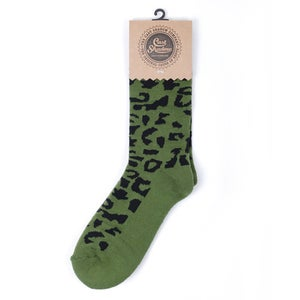 Image of Gato Socks (Olive)