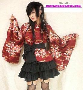Image of RED YUKATA SET !