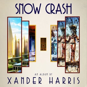 Image of [dsr069] Xander Harris ‎– Snow Crash LP