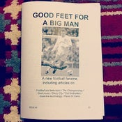 Image of Good Feet For A Big Man fanzine Issue 2