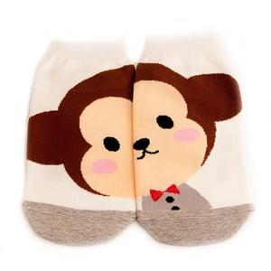 Image of Bow Tie Monkey Socks