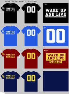 "Image of Wake Up and Live ""00"" Shirt"