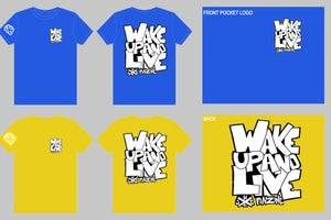 "Image of Wake Up and Live ""street"" shirt"