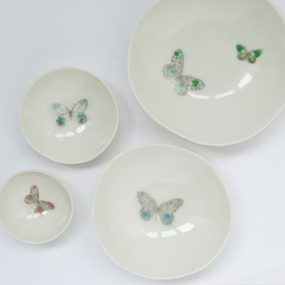 Image of Butterfly bowls