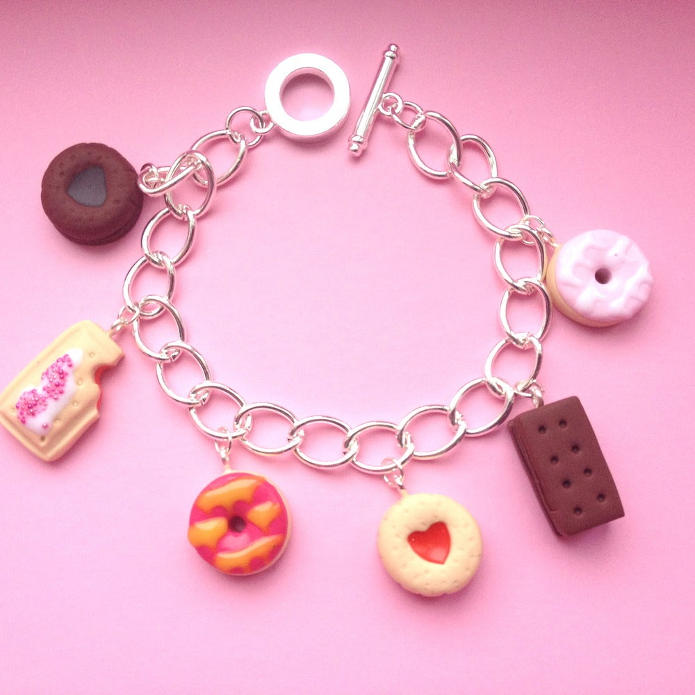 Image of Biscuit Collection Charm Bracelet