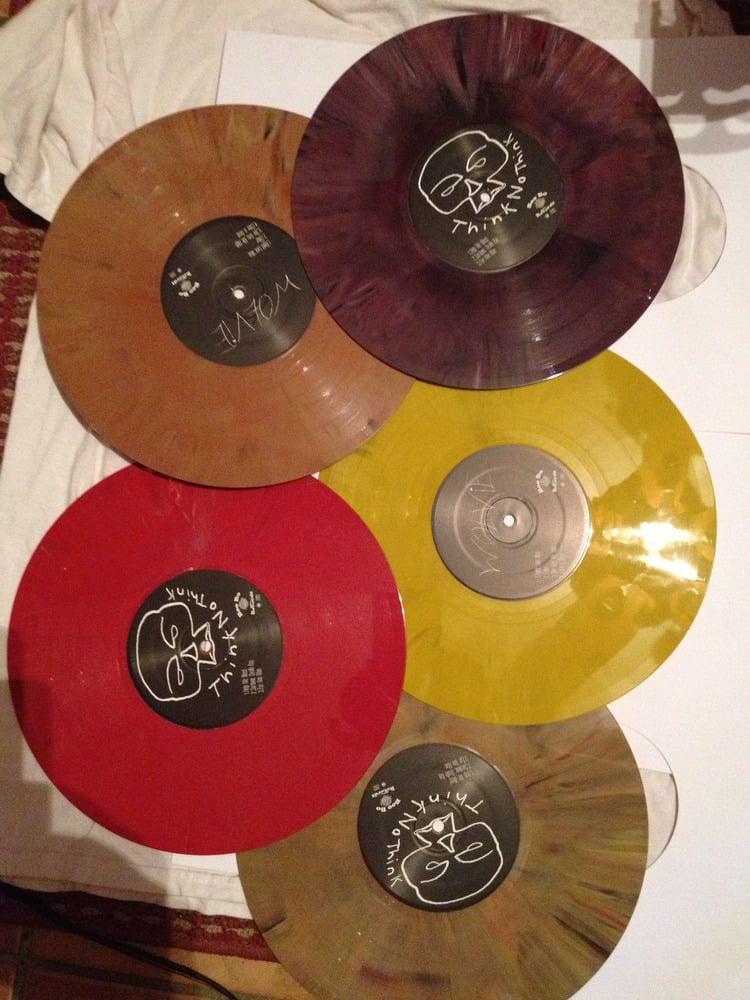 Image of BooBo Split 10in on psych color vinyl
