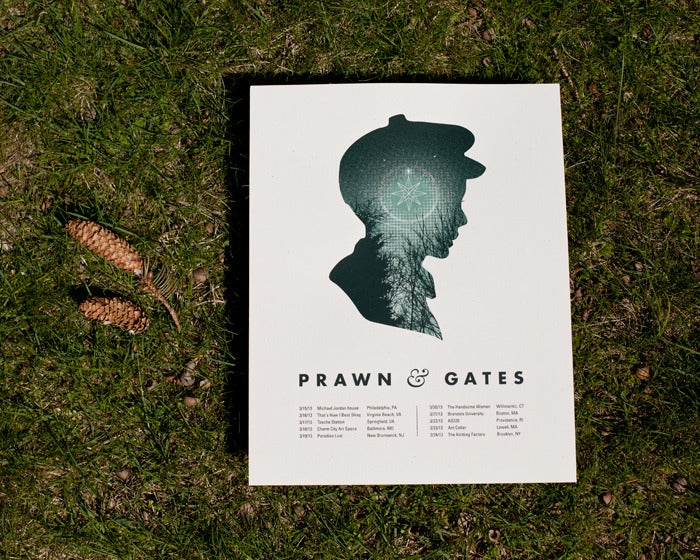 Image of Prawn Tour Poster - 11x14""