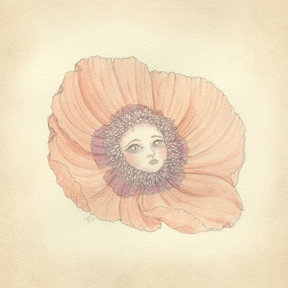 Image of Poppy mini print