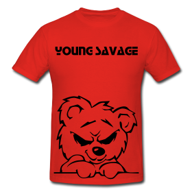 Image of Young Savage Bear (Red)