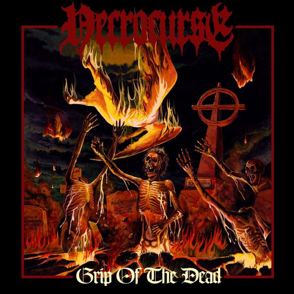 "NECROCURSE ""Grip Of The Dead"" CD"