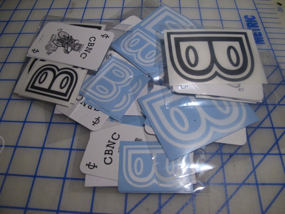 Image of CBNC decal pack