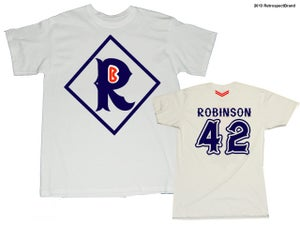 "Image of Jackie ""R""obinson tee from ""R""etrospect"