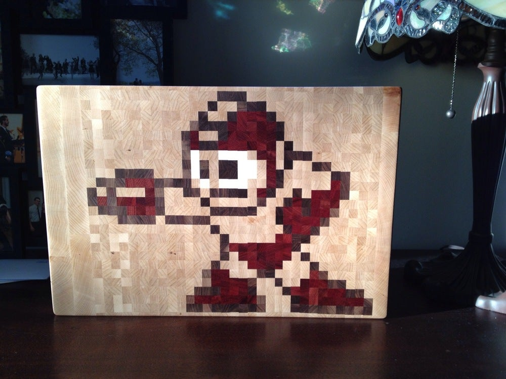 Image of 8-bit Cutting Board