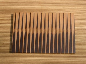 Image of Backgammon Inspired Cutting Board