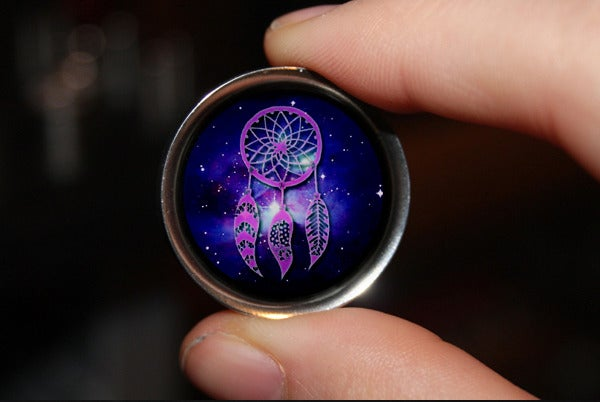 "Image of Dreamcatcher Galaxy Plugs (sizes 2g-2"")"