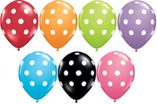 Image of POP Polka Dot Balloons