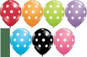 Image of POP Polka Dot Balloons
