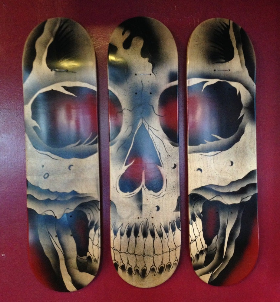 Image of Skull Skate Decks