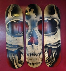 Image of Skull Skate Decks