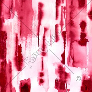 Image of Painted Stripe - Red