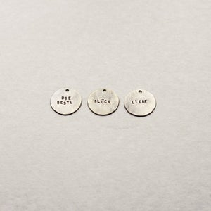 Image of Lettered Pendants