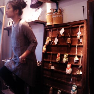 Image of Cotton dress / 前短後長連身裙 code : 129