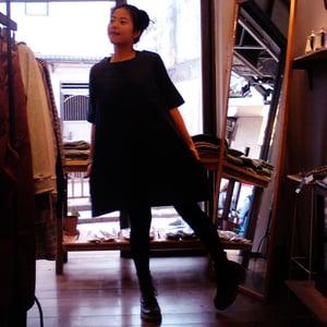 Image of Denim short sleeves dress / 短袖牛仔連身裙 code : 132