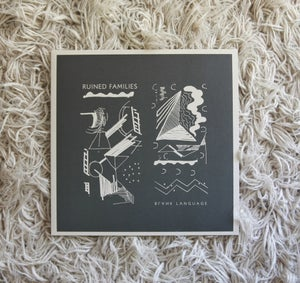 Image of RUINED FAMILIES - Blank Language LP