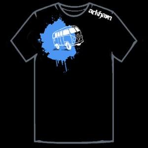 Image of Arkham Van T-Shirt - Black