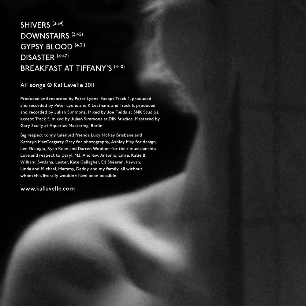 Image of Shivers EP - Kal Lavelle