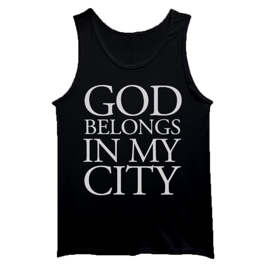 Image of GBIMC- Black Tank Tops
