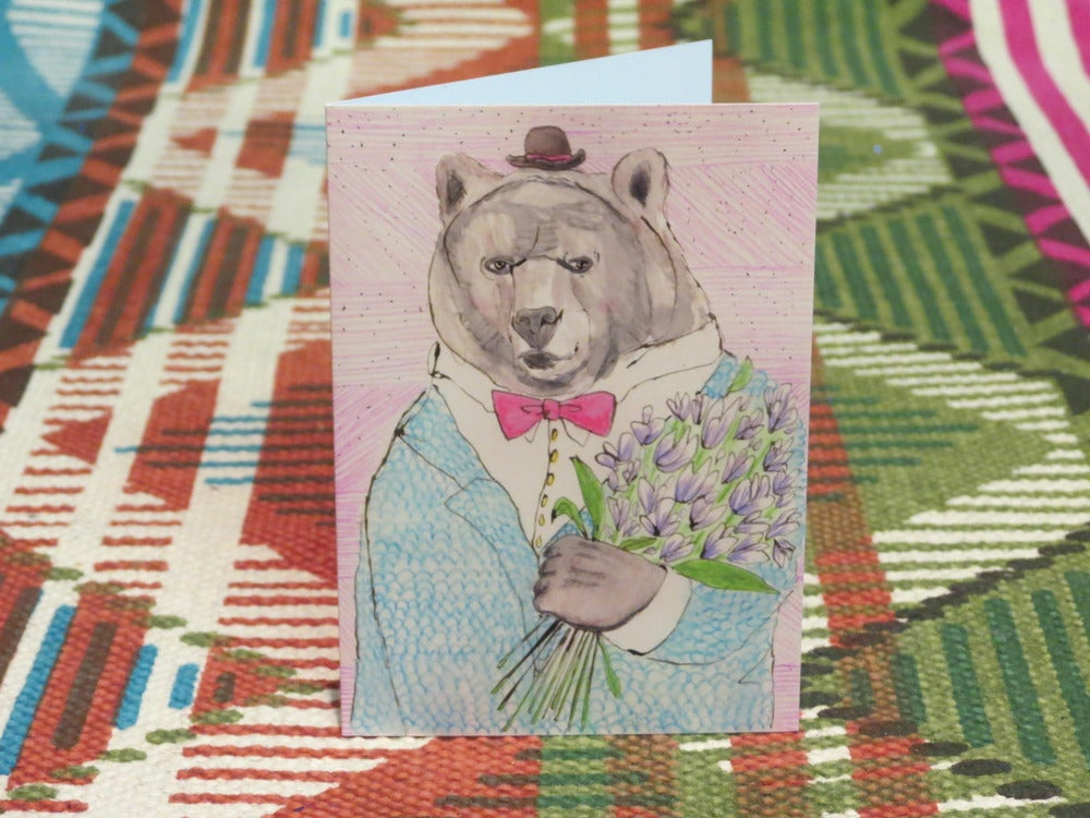 Image of mister bear blank gift card