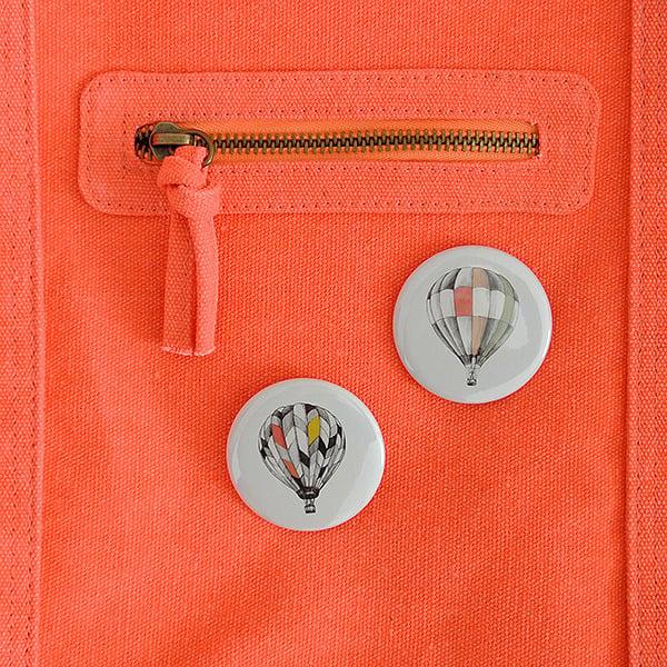 Image of Badge montgolfière 2