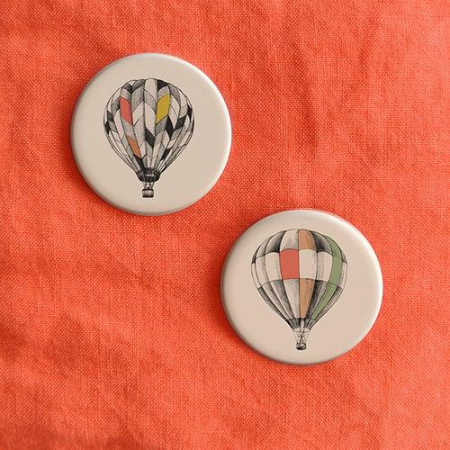 Image of Badge montgolfière 1