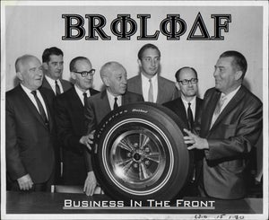 """Image of BroLoaf - """"Business in the Front, Party in the Back""""  7"""" record"""