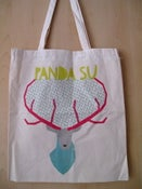 Image of **SALE** 'Stag' Panda Su Tote Bag